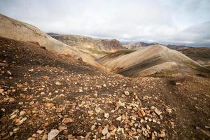 paisaje volcánico - landmannalaugar, islandia