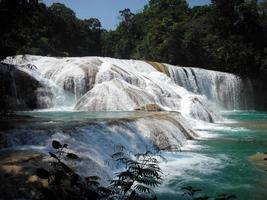 Agua Azul Waterfall photo