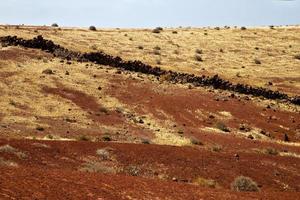 piedra volcánica lanzarote españa timanfaya rock verano