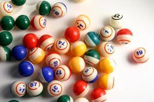 Bingo balls 3 photo