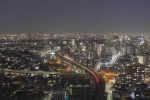 Tokyo Night Time View