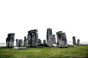 Stonehenge on Salisbury, England photo
