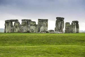 Monumento prehistórico Stonehenge ubicado en Wiltshire, Inglaterra.