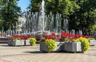 fuente en parque kronvalda