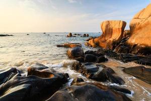 Co Thach beach in sunrise, Binh Thuan, Vietnam
