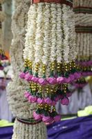Rice wreaths art and dance of Thailand. photo