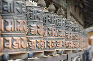 rueda de oración en Nepal