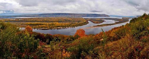 autumn Volga.