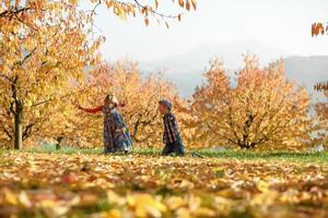 diversão de outono