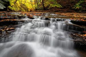 cascada de otoño foto