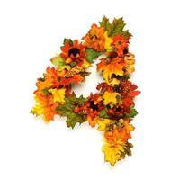 números de otoño