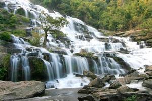 waterfall in Chiang Mai ,Thailand.