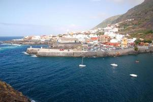 Picturesque town Garachico on Tenerife, Spain