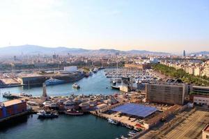 Port of Barcelona photo