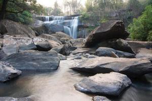 waterfall in Na haeo, Loei, Thailand