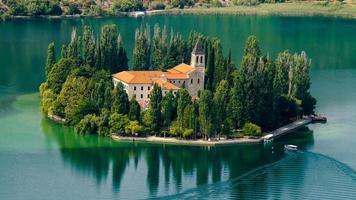 The Visovac Monastery