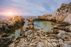 vista de la costa del pacifico