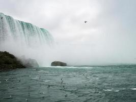 Niagra Falls at moody weather