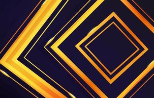 Gold Line and Geometric Background