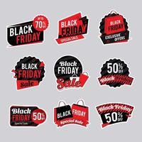 Black Friday Sale Sticker Collection