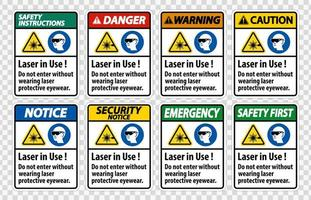 Warning PPE Safety Label