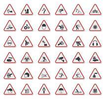 Warning Hazard Symbols