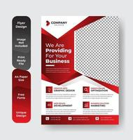 Red Corporate Business Flyer