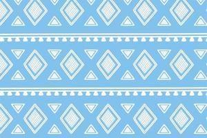 Ethnic handmade. Geometric tribal ornament wallpaper vector
