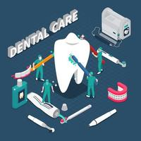 Stomatology dentistry dental care vector