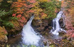 Ryuzu waterfall in Japan