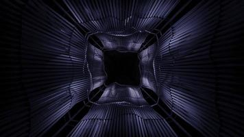 Black space 3D background