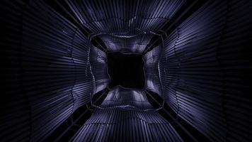 Black space 3D background photo