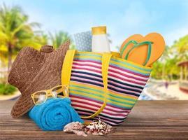 Vacations, Summer, Beach Bag photo