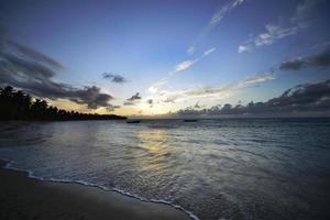 Sunset, Samana, Grand Bahia Principe El Portillo, dominican republic photo