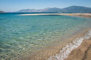 Golden beach, Evbia, Greece