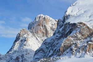 Sassolungo e Sassopiatto, Dolomites photo