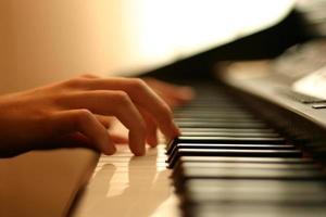 suave música de piano
