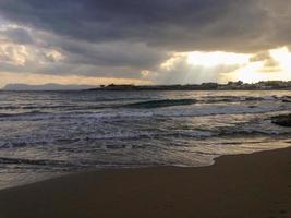 Greek beach photo