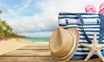 Beach, Summer, Group of Objects photo