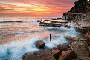 Bronte beach rockpool. photo