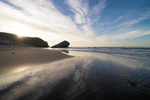 Scenic Monsul beach