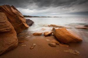Beach in Italy. photo