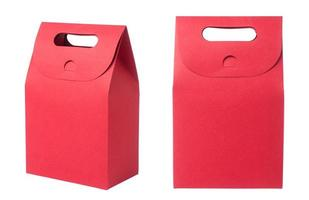 red paper bag photo