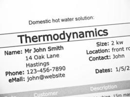 termodinámica foto