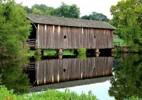 Covered Walking Bridge