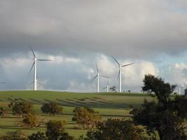 Wind Farm near Pinnacle in Western Australia photo