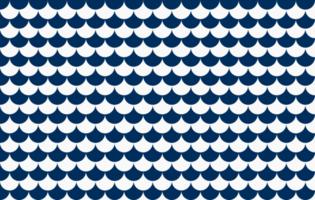 patrón sin costuras de lágrima de estilo japonés vector