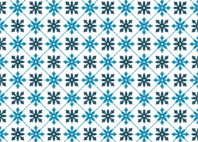 patrón de mosaico azul vector