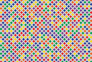 patrón de mosaico geométrico colorido
