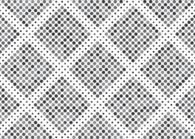 Geometric black circle pattern vector